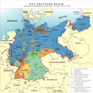 Deutschland in den völkerrechtlich gültigen Grenzen
