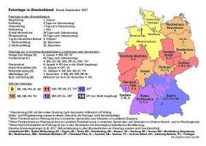 Feiertage in Deutschland